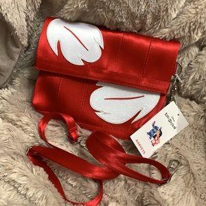 Harvey's Lilo and stitch seat belt bag red Disney
